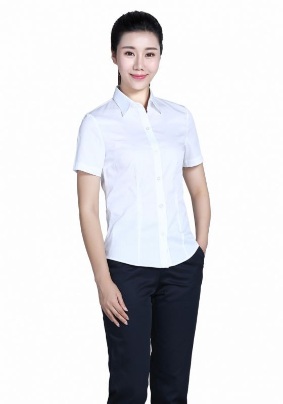 衬衫白色女