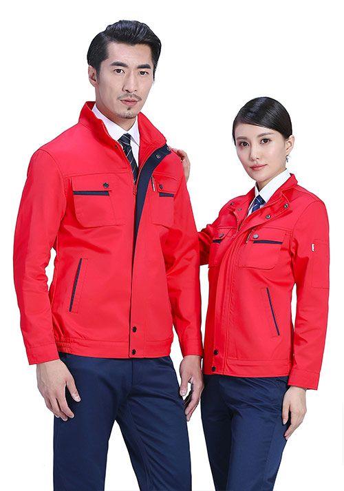北京新款工装工作服定做之快递员工作服是怎么定做的