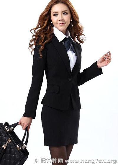 职业装性感美丽穿搭术 告别死板黑白配